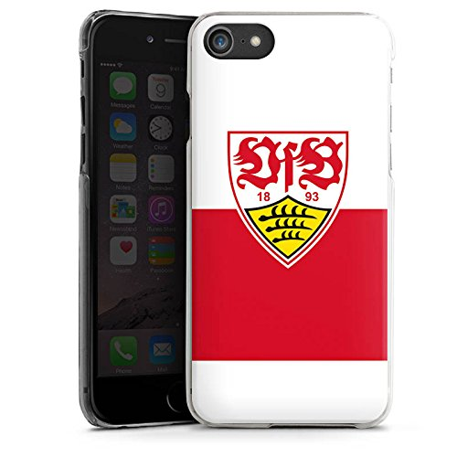 Apple iPhone 8 Hülle Case Handyhülle VfB Stuttgart Fanartikel Fußball Hard Case transparent
