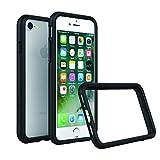 RhinoShield Coque iPhone 8 [Compatible avec iPhone 7] - Bumper CrashGuard [Protection de chutes de 4 mètres] Haute durabilité - Noir