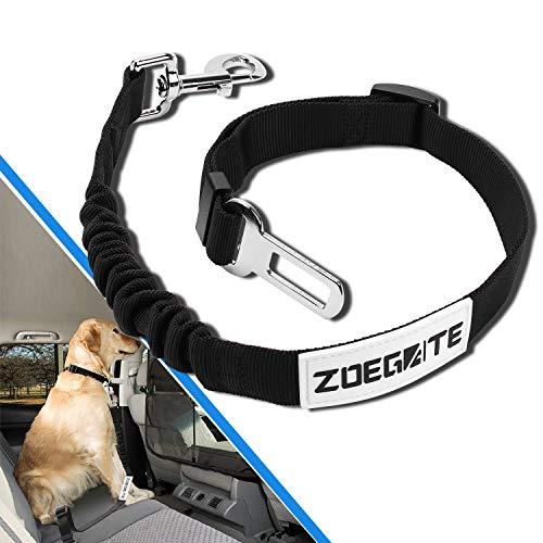 Speedsporting Hunde Sicherheitsgurt, Katzen Sicherheitsgeschirr einstellbar Hundegurt fürs Auto mit besonders elastischer Ruckdämpfung passend für alle Hunderassen