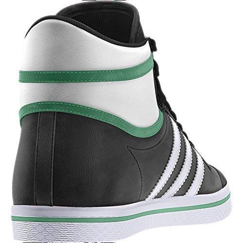 adidas Originals Basket Femme - TOP TEN VULC W Noir-Blanc