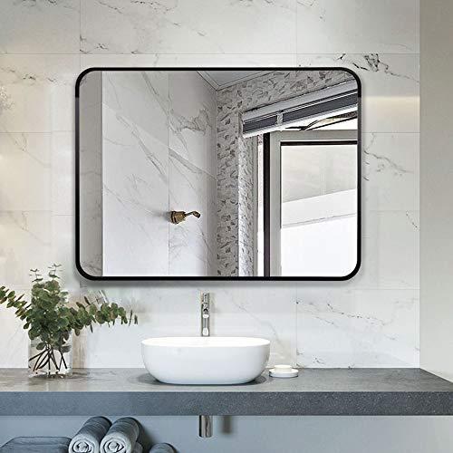 Espejo baño Espejo Decorativo Porche Cuadrado, Borde