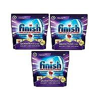 Finish Quantum Dishwasher Tablets Lemon 30's Pack Of 3