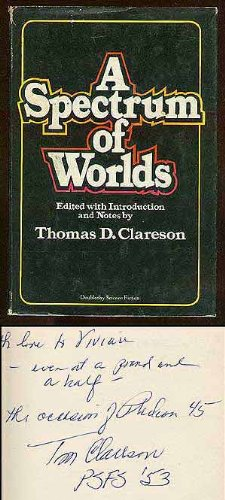 book cover of A Spectrum of Worlds