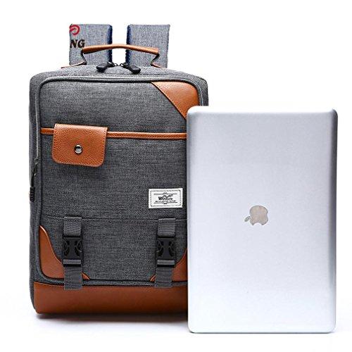 F@Outdoor-Rucksack, Paarrucksack, wasserdichte Wanderrucksack Taschen, männliche und weibliche Studenten Taschen, Taschen-Computer gray