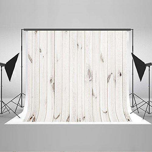 KateHome PHOTOSTUDIOS Fotografie Hintergrund Holz Brett 2,2×1,5m Holz Holzfußboden Foto Hintergrund weiß Textur Photography Background
