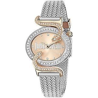 Just Cavalli Reloj analogico para Mujer de Cuarzo con Correa en Acero Inoxidable R7253591507