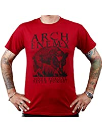 Arch Enemy, T-Shirt, Wolf red
