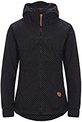 Alife & Kickin Black Mamba Jacket Damen Uebergangsjacke, black dots, L