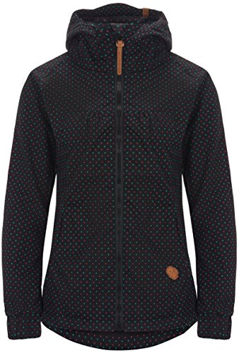 Alife & Kickin Black Mamba Jacket Damen Uebergangsjacke, black dots, XL
