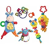 Playgro Blankie Teether Ready Pack Pacifiers & Teethers