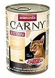 animonda Carny Kitten Katzenfutter, Nassfutter für junge Katzen, mit Geflügel-Cocktail (6 x 400 g)