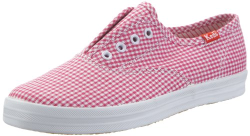 Keds Kids Laceless CVO KY38898A Unisex - Kinder Sneaker Weiss/White/Pink