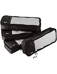 AmazonBasics Packing Cubes/Travel Pouch/Travel Organizer - Slim