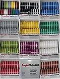 Coroplast Box verschiedene Farben VDE Isoband Elektriker Isolierband Klebeband 15mm x 10 m 20 Rollen (Rot)