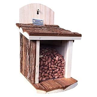 Greenkey Garden & Home 699 Squirrel Feeder - Brown Greenkey Garden & Home 699 Squirrel Feeder – Brown 51SIutgCiEL