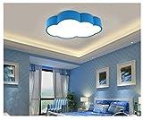 GRFH Remote Controlled attenuazione stepless-soffitto principali moderne camera da letto della lampada di personalità creativa dei bambini della scuola materna luci di soffitto 52 centimetri * 32 centimetri