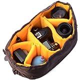 XCSOURCE® housse d'objectif flexible avec partitions d'insertion pour objectif Canon DSLR SLR Objectif LF381