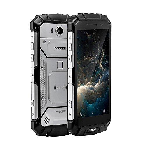 DOOGEE Smartphone S60 Lite IP68 Android 7.0 4G Teléfono RAM 4 GB + ROM 32 GB de Memoria con Pantalla DE 5.2 Pulgadas, Resistente al Agua y Soporte de Carga inalámbrica