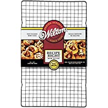 Wilton 2105-9716 - Rejilla antiadherente para enfriar Recipe Right, 40 x 25 cm