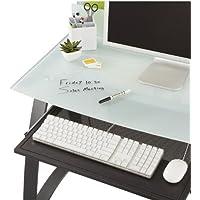 Safco 1940BL Xpressions - Bandeja de teclado, color negro