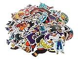 CoolChange Sticker de Haute qualité de Dragon Ball, 100 pièces