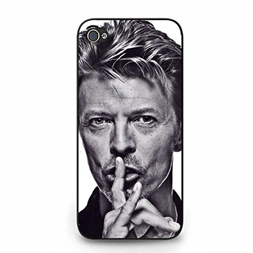 Coque iphone 5 5s Cover Shell Cool Elegant GlamRock style Musician David Bowie Phone Case Cover Great Singer Perfect,Cas De Téléphone