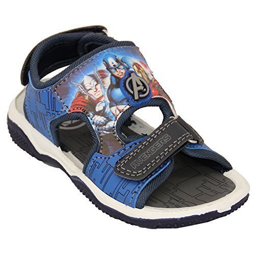 Star Wars Garçons Avengers Tempête Troopers Minions Sandales Enfants Disney Marvel - Marine - LYMINGTON, UK 8/EU 26 - Toddlers