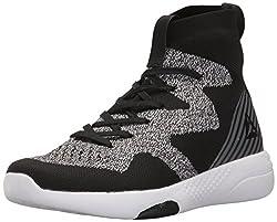 Reebok Womens Hayasu Ultraknit Running Shoe, Black/Flat Grey/White, 9 M US