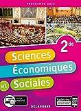 Sciences economiques et sociales 2de 2019 - Pochette eleve...