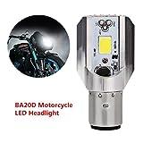 FEZZ Motorrad LED Scheinwerfer Birne 16W 1200LM 6500K Weiß Hi/ Lo Beam