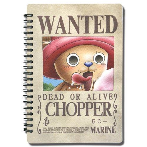 one-piece-chopper-avis-de-recherche-a5-cahier