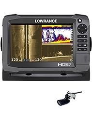 Lowrance HDS-7 Gen3 Echolot StructureScan GPS Combo Festmontage - KOMPLETTSYSTEM