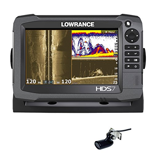 Lowrance HDS-7 Gen3 + Transductor 83/200 KHz +...
