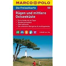 MARCO POLO Freizeitkarte Rügen und mittlere Ostseeküste 1:100.000