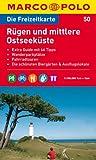 MARCO POLO Freizeitkarte Rügen und mittlere Ostseeküste 1:100.000 -