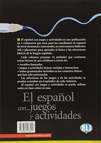Español... Con juegos y actividades. Per la Scuola media (El): 1 (Libri di attività)