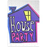 Welcome To My House Party Jigsaw Puzzle laberinto Jigsaw Puzzle Maze| Unique And Custom Learning Games For Kids & Adults| Learning Made Fun With Custom Design & Printed Jigsaw Puzzles