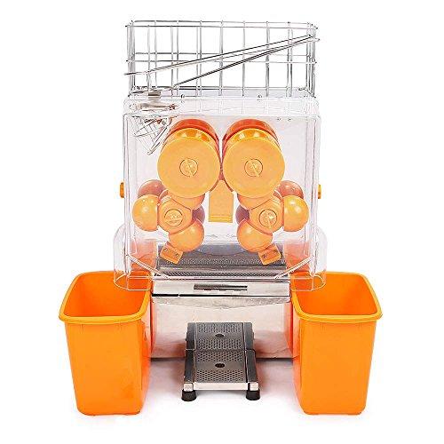 Moracle Máquina Comercial del Jugo de Naranja Exprimidor de Limón Extractor Automático 20-22 Naranjas/Min para Bebidas