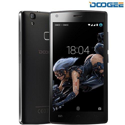 Cellulari in Offerta, DOOGEE X5 Max Pro Smartphone Android 6.0 - 4G 5.0 Pollici HD IPS Display Telefonia Mobile - 4000mAh Cellulare con 16GB ROM 2GB RAM - 8.0MP Fotocamera Digitale e Impronta