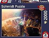 Schmidt Spiele Puzzle 58239 Puzzle 2.000 Teile, Tag und Nacht, Zeitscheibe