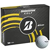 BRIDGESTONE Golfball Tour B 330, White, M, 1b4330