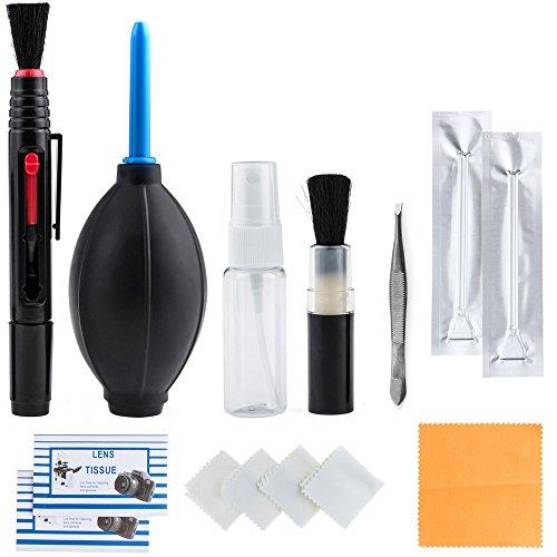 Zacro, kit di pulizia professionale 14 in 1 per lente ottica e fotocamere digitali reflex