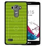 4af38be4cbb WoowCase Funda LG G4s, [LG G4s ] Funda Silicona Gel Flexible Campo de Fútbol