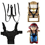 Bazaar Chaise enfants landau poussette poussette siège bébé fixation de sécurité courroie sangle harnais réglable en 5 points