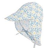Boomly Estate Motivo stampato Asciugatura rapida Traspirante Berretto per Bambino Cappello Bambino con Visiera Cappello da Sole da Spiaggia Cappello da Pescatore