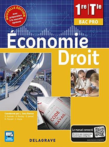 Économie Droit 1re, Tle Bac Pro (2016) - Pochette élève par Lucas Sanz Ramos