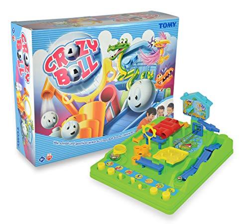 TOMY Geschicklichkeitsspiel für Kinder 'Crazy Ball' (Tricky Golf) - hochwertiges Kinderspielzeug -...
