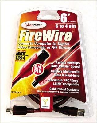 Preisvergleich Produktbild 6 'IEEE 1394 FireWire Kabel