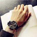 Armbanduhr, VECOLE LED beleuchtete Paar Uhr Sport wasserdicht Quarz Analoganzeige Uhr Silikonband Präzises Uhrwerk 12 Stunden Zifferblatt(Schwarz)
