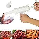 DEHUB Machine de Remplissage de saucisses, Machine de Remplissage Manuelle pour Le Remplissage de saucisses, idéale pour la Cuisine Maison